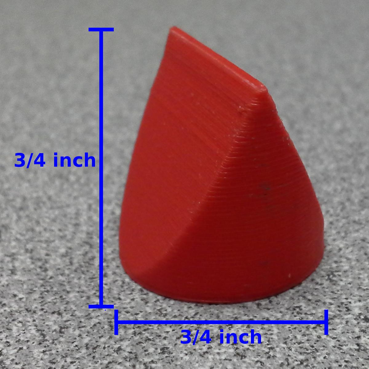Round Square Triangle Dimensions